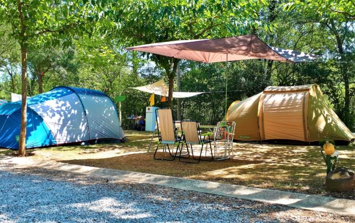 Parcel·la tenda plot tent
