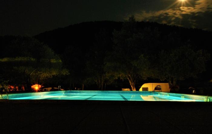 piscina de nit