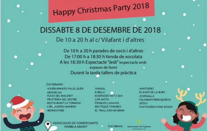 Happy Christmas Party 2018 Figueres