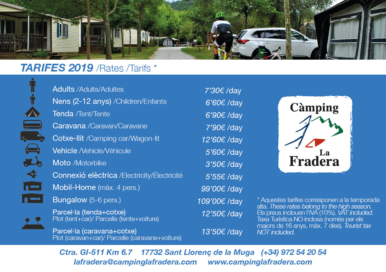 Camping La Fradera - Come and enjoy nature with family